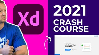 Learn Adobe XD in 2021 by Example (Crash Course)