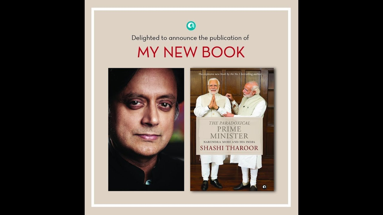 The Paradoxical Prime Minister By Shashi Tharoor Youtube