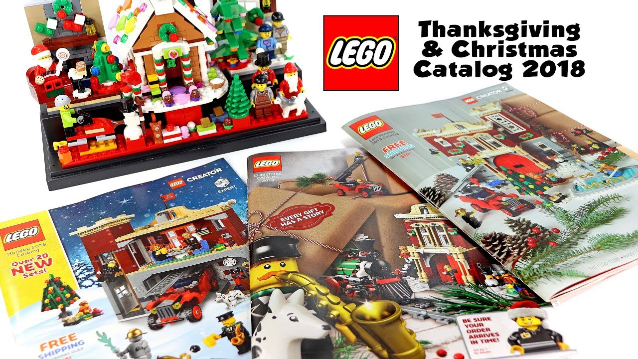 LEGO Thanksgiving & Christmas Official Catalog 2018 Black Friday Sales &  Deals