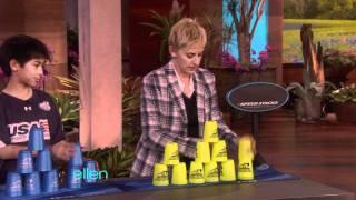 Ellen Gets Stackin