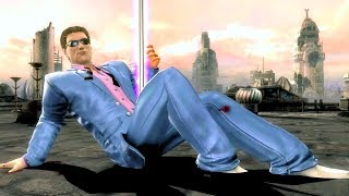 Johnny Cage (Costume 2) Performs All Character Intros & Victory Celebrations (MKIX) PC 4k UHD 2160p