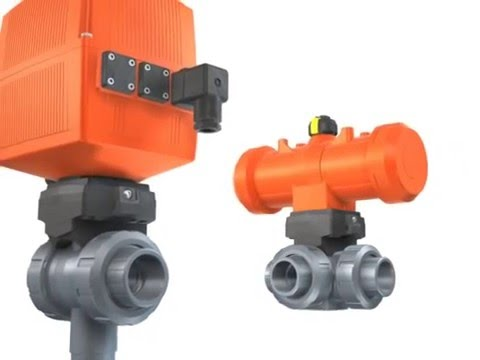 Ball Valve Type 543 - GF Piping Systems - English