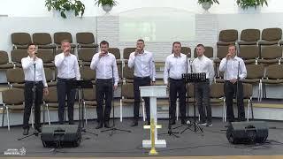 ♪ ♫ «Мы идем по этому пути» | Мужская группа центральной церкви г. Кобрин