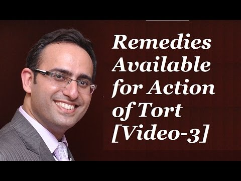 Remedies Available for Action of Torts [Video 3] DAMAGES & ITS KINDS (Part-1)