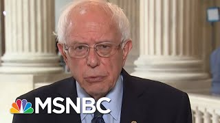 Senator Bernie Sanders A War With Iran Would Be An Absolute Disaster   Velshi & Ruhle   MSNBC