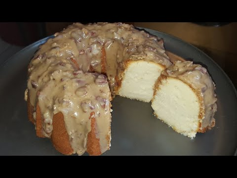 How To Make New Orleans Praline Pound Cake From Scratch
