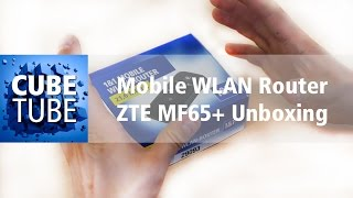 Mobile WLAN Router ZTE MF65+ Unboxing