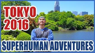 Tokyo Japan 2016 - Luis Angel Memory Master Champion Superhuman Adventures World Travels