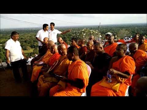 The crowd at Isinbassagala Dharma Deshanaya on 31.05.15