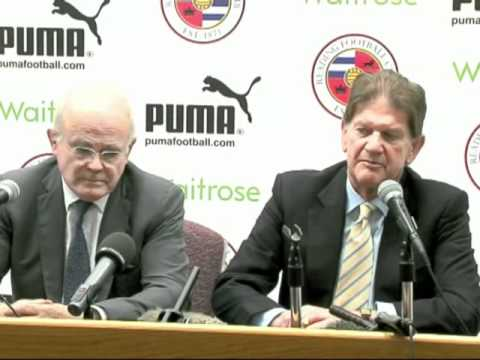 Reading FC press conference