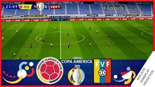 COLOMBIA vs VENEZUELA 0-0   RESUMEN   Copa America 2021