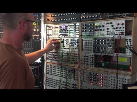 Ambient Eurorack improv Mutable Instruments Rings, Clouds & Intellijel Metropolis
