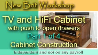 Tv Cabinet Part 1 - Main Construction