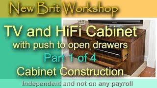 Tv Cabinet Part 1 - Main Construction