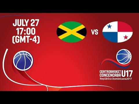 Jamaica vs Panama - Full Game - Centrobasket U17 Championship