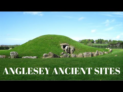 Ancient Sites Of Anglesey, Wales.