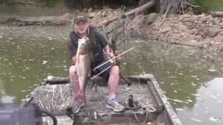 Camping And Fishing On The Missouri River