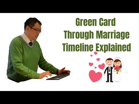 Green Card Through Marriage Process 2020
