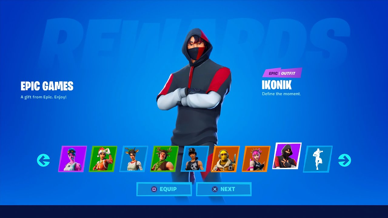 Fortnite HACKER gifts EVERY ITEM!