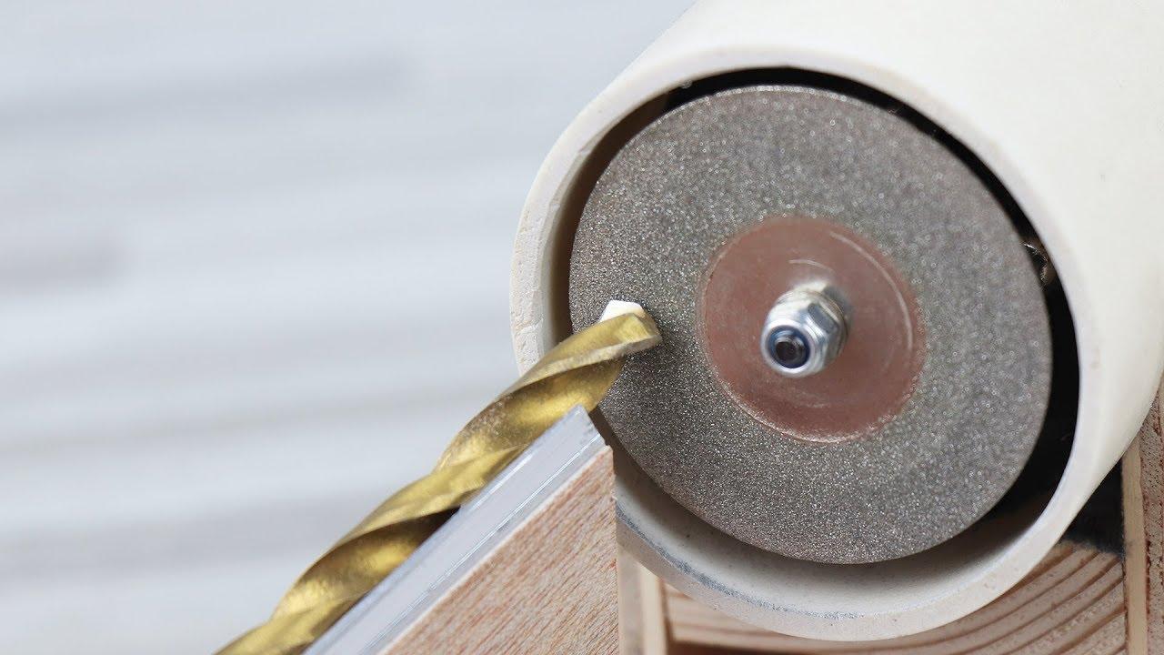 How To Make Drill Bit Sharpener Machine