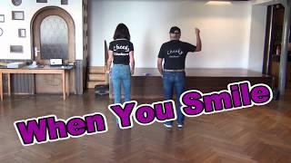 When You Smile Line Dance Teach & Dance