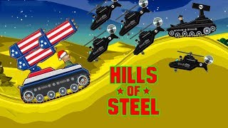 Hills of Steel new update Noel 2018 - Tank for kids - Games bii