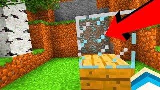 Minecraft: Jak znaleźć diamenty dzięki SZKLE?