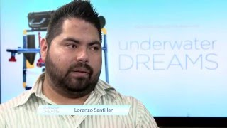Lorenzo Santillan from Underwater Dreams on MDC TV
