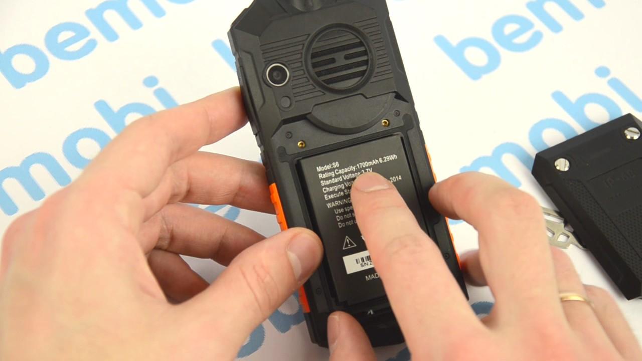 Защищённый кнопочный телефон Land Rover M8. Видео обзор Land Rover M8 IP68! Водонепроницаемый!