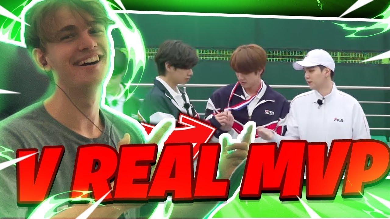 [ENG SUB] Run BTS 2021 - EP.130 Reaction ? V THE REAL MVP