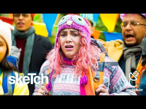 Gringa en Carnaval - enchufetv