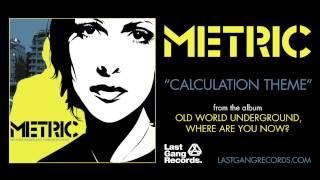 Metric - Calculation Theme