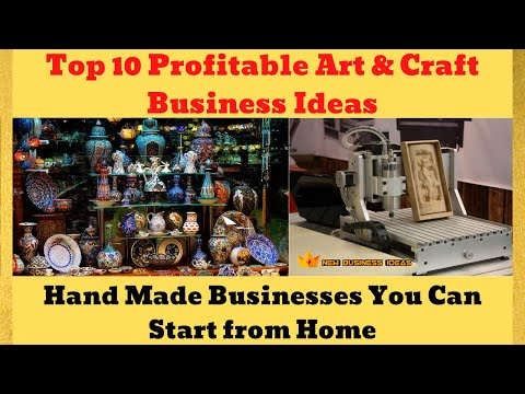 Top 10 Profitable Art & Craft Business Ideas | You Can Start from Home