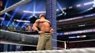 WWE 2K14: Wrestlemania 29: John Cena Vs. The Rock (WWE Championship)