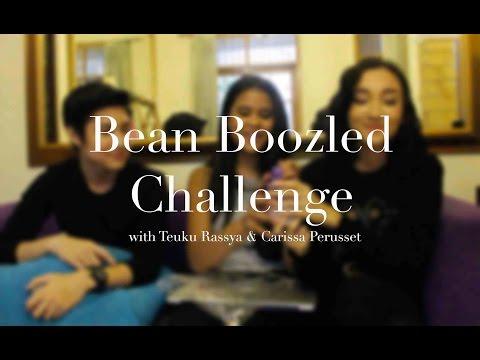 Bean Boozled Challenge with Teuku Rassya & Carissa Perusset