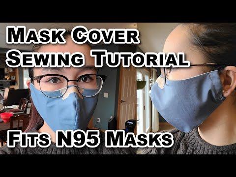 Olson-Olsen N95 Homemade Mask Cover Sewing Tutorial