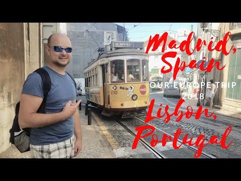 Madrid, Spain & Lisbon, Portugal - Europe Trip 2018