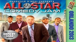 An All Access Backstage Pass to All Star Comedy Jam Orlando 2013