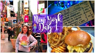 New York Vlog November 2017 | Day One