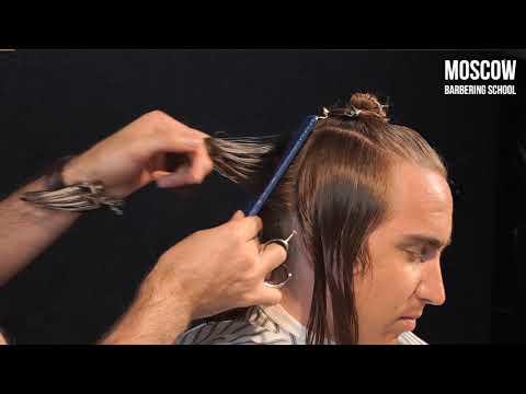 Длинные волосы (мужская стрижка) SURF STYLE от Арташес Топлагалцян (MBS)