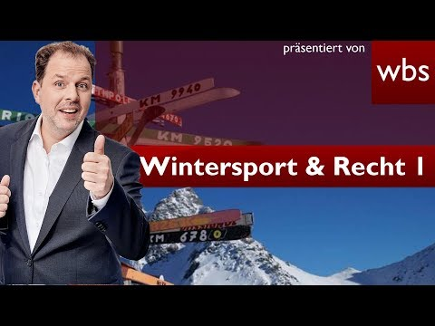 Recht beim Skifahren - Unfälle und Unwetter - Teil 1| Rechtsanwalt Christian Solmecke