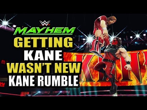 WWE Mayhem - Kane Rumble Event and Getting Kane Wasn't New After All