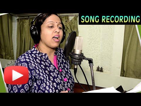 Muhurat Song Recording with Vaishali Samant   Garbh Marathi Movie