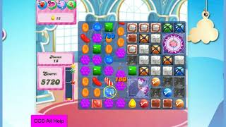 Candy Crush Saga Level 1103 30 moves NO BOOSTERS Cookie
