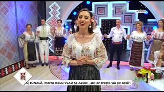 Ileana Mustacel- In genunchi m-ai blestemat ( Seara buna dragi romani 2018)
