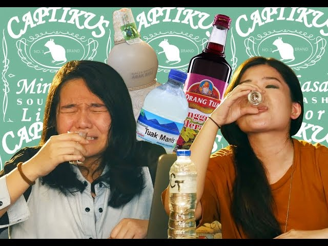TRYING INDONESIAN ALCOHOL! Tuak, Arak Bali, Cap Tikus, Anggur Merah, Ciu