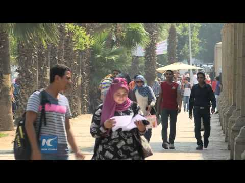 Egypt's Cairo University bans teachers from wearing face vei