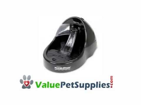 Petmate 108oz Fresh Flow Black Cat Dog Water Fountain