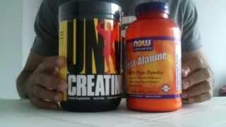 Beta Alanina + Creatina - IHerb Tributado