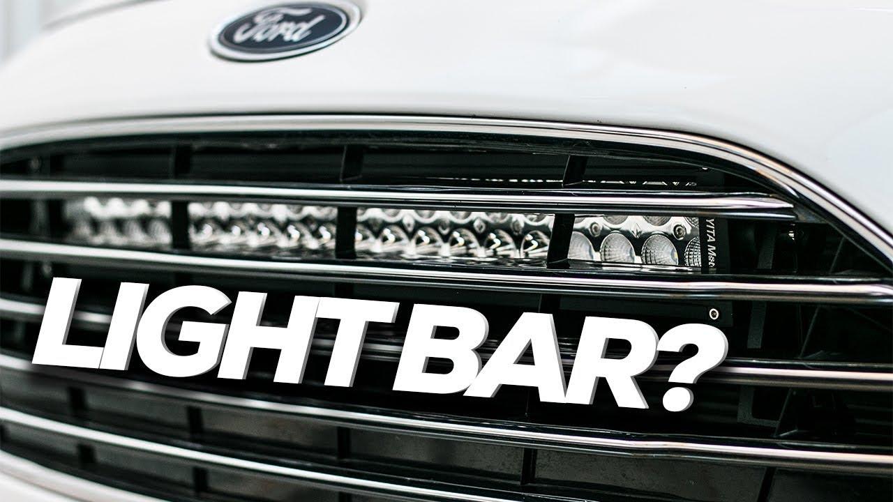 Installing a Light Bar [Yitamotor Light Bar] [Rally Fiesta Build ...